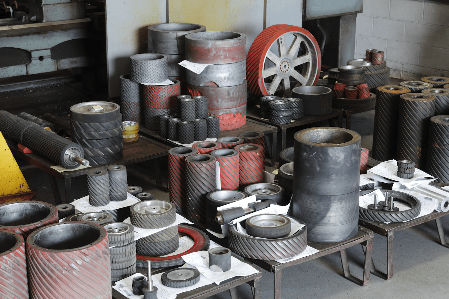 Contact wheel recovery services parts.