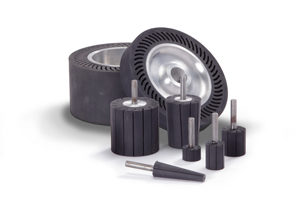 Rubber Contact Wheels and Mandrels from Contact Rubber